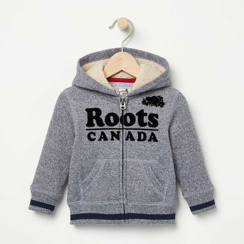 Roots-undefined-Baby Roots Cabin Full Zip Hoody-undefined-A