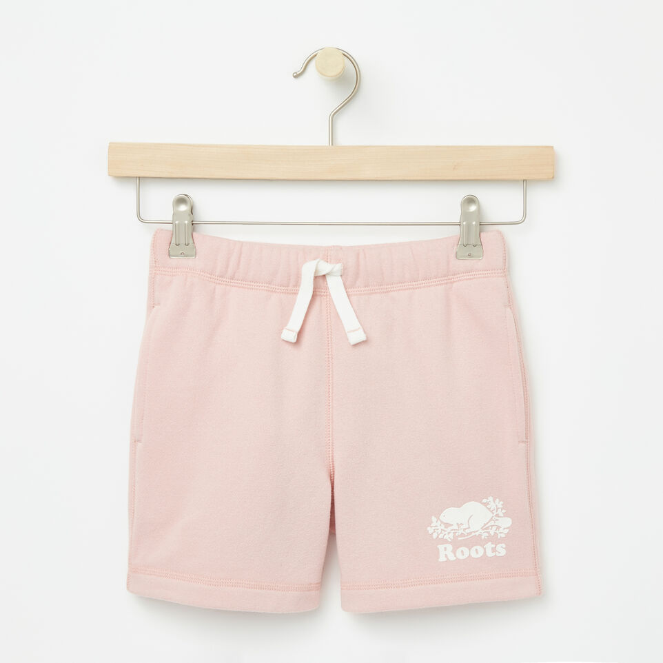 Roots-undefined-Girls Original Athletic Shorts-undefined-A