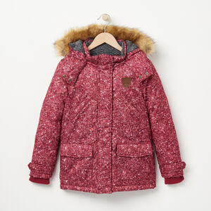 Roots-Kids Categories-Girls North Wind Parka-Rhododendron-A