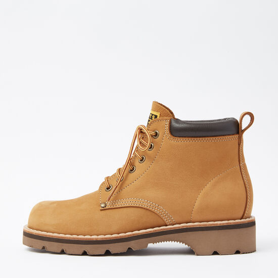 Roots-Shoes Boots-Mens Tuff Boot Waterbuck-Honey-A