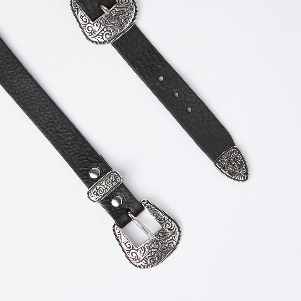 Roots-undefined-Double Western Buckle Belt-undefined-B