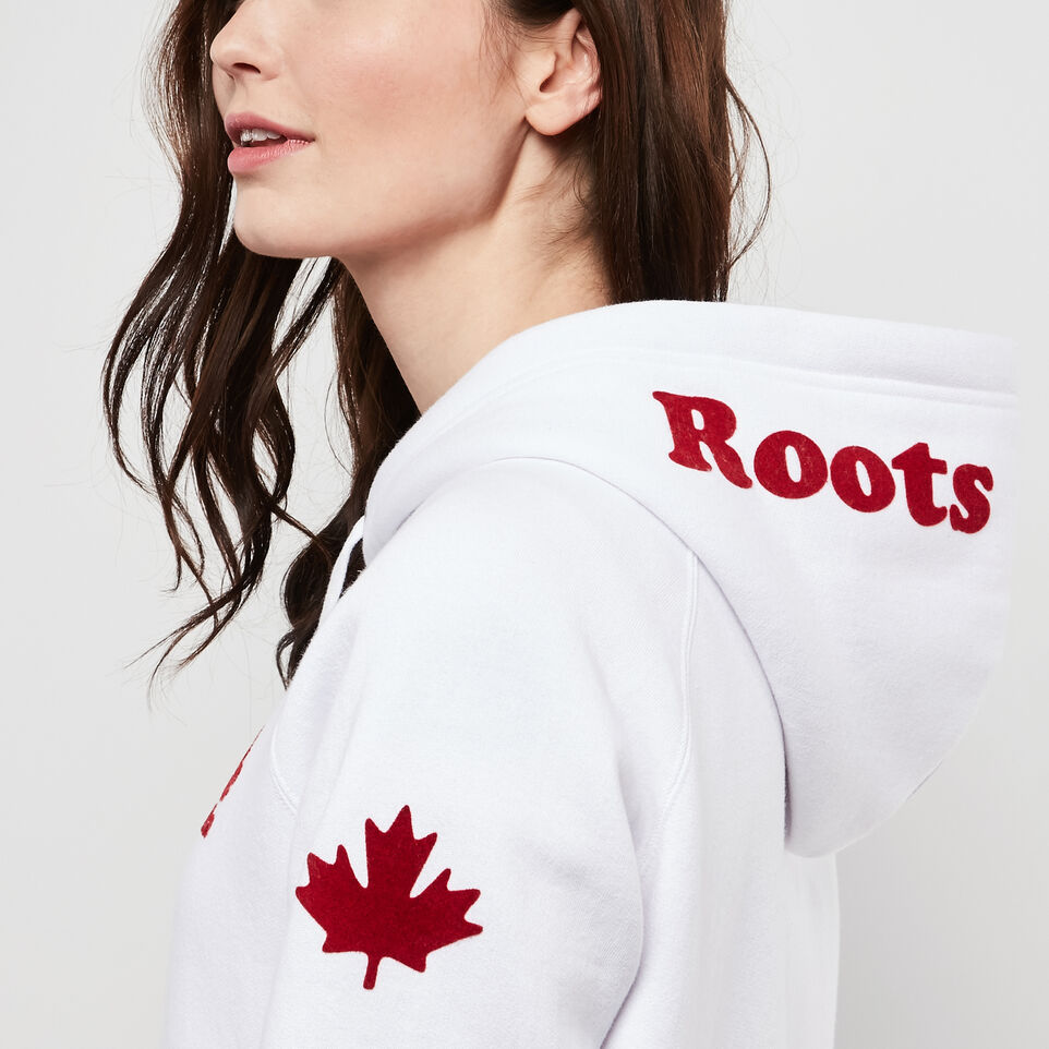 Roots-undefined-Womens Cooper Canada Full Zip Hoody-undefined-F