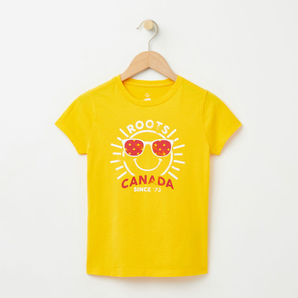 Roots-undefined-Girls Sunshine T-shirt-undefined-A