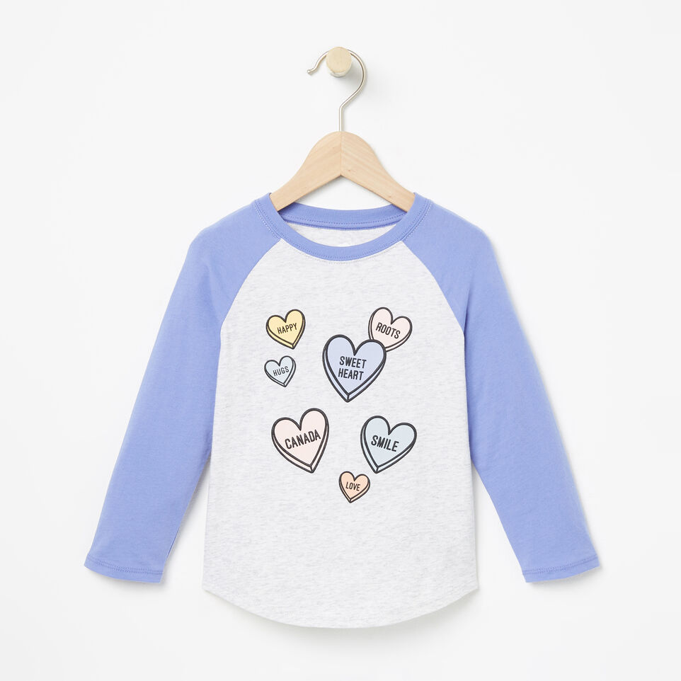 Roots-undefined-Toddler Watercolour Baseball Top-undefined-A