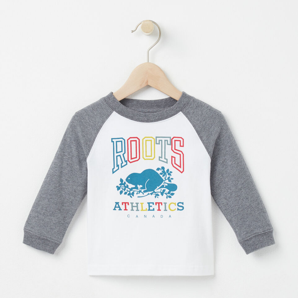 Roots-undefined-Baby Damian Baseball T-shirt-undefined-A