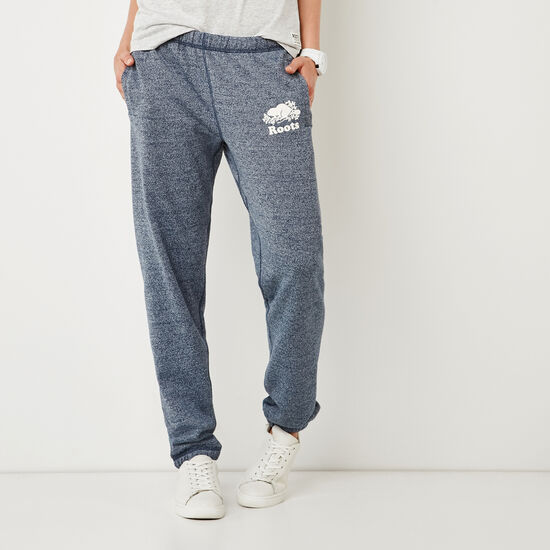 Roots-Women Original Sweatpants-Original Sweatpant-Navy Blazer Pepper-A