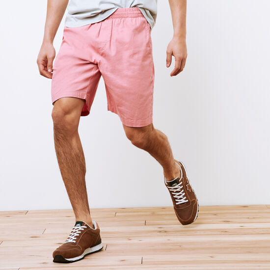 Roots-Hommes Shorts-Short Campbell En Chanvre-Soleil Abrict-A