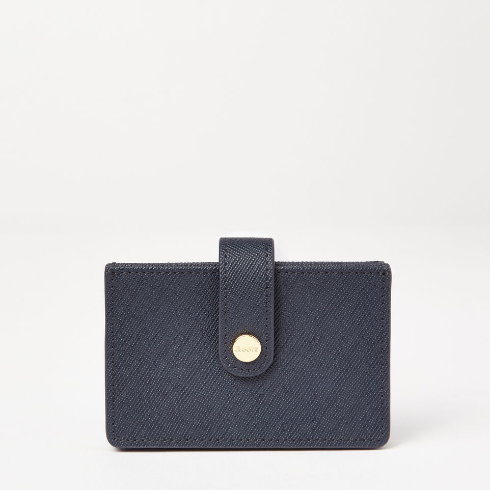 Roots-undefined-Multi Card Holder Saffiano-undefined-C