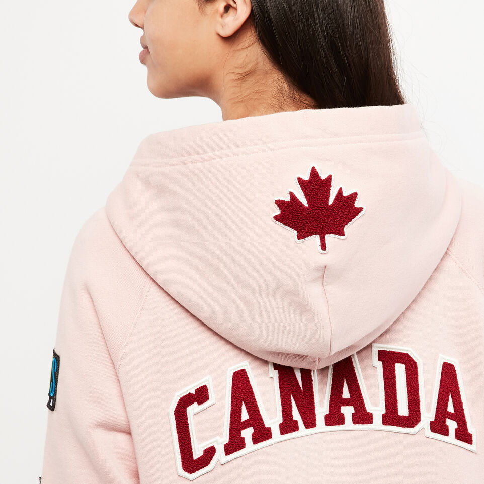 Roots-undefined-Womens Patches Original Full Zip Hoody-undefined-F