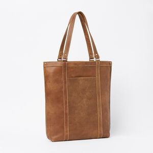 Roots-Leather Totes-Market Tote Tribe-Africa-A