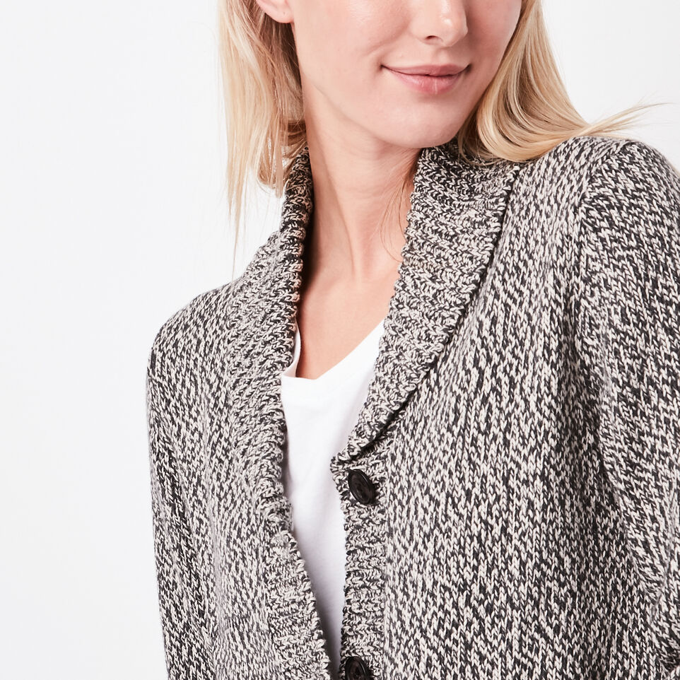 Roots-undefined-Cotton Cabin Shawl Sweater-undefined-C