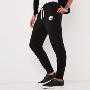 Roots-Women Bottoms-Pin Tuck Slim Cuff Sweatpant-Black-A