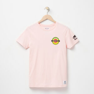 Roots-Men Canada Collection By Roots™-Womens Patches T-shirt-Silver Pink-A