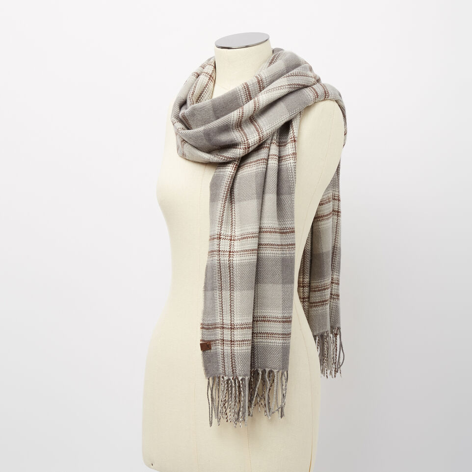 Roots-undefined-Ryleigh Plaid Scarf-undefined-B