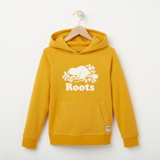 Roots-Kids New Arrivals-Boys Original Kanga Hoody-Yellow Shadow-A