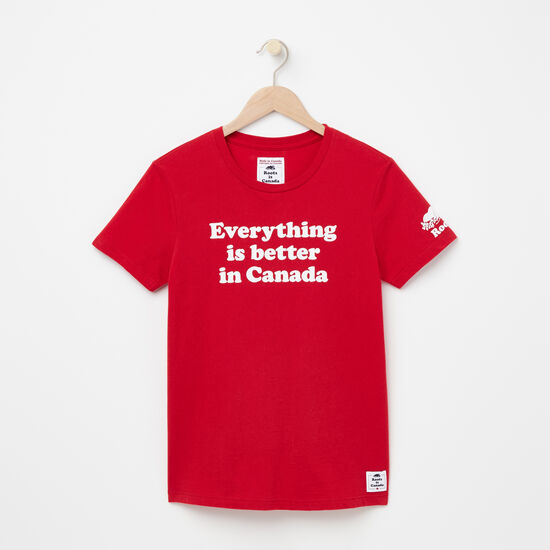Womens Everything Is Better T-shirt