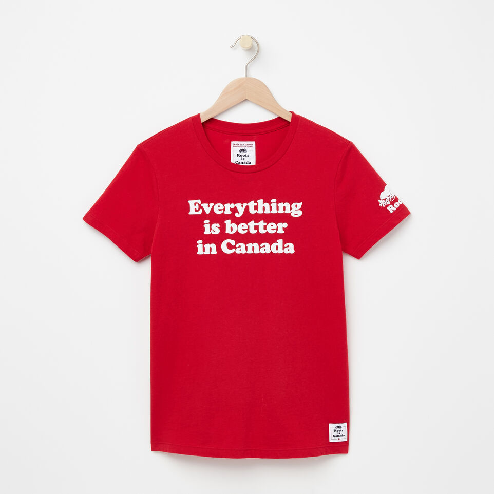 Roots-undefined-T-shirt Everything Is Better-undefined-A