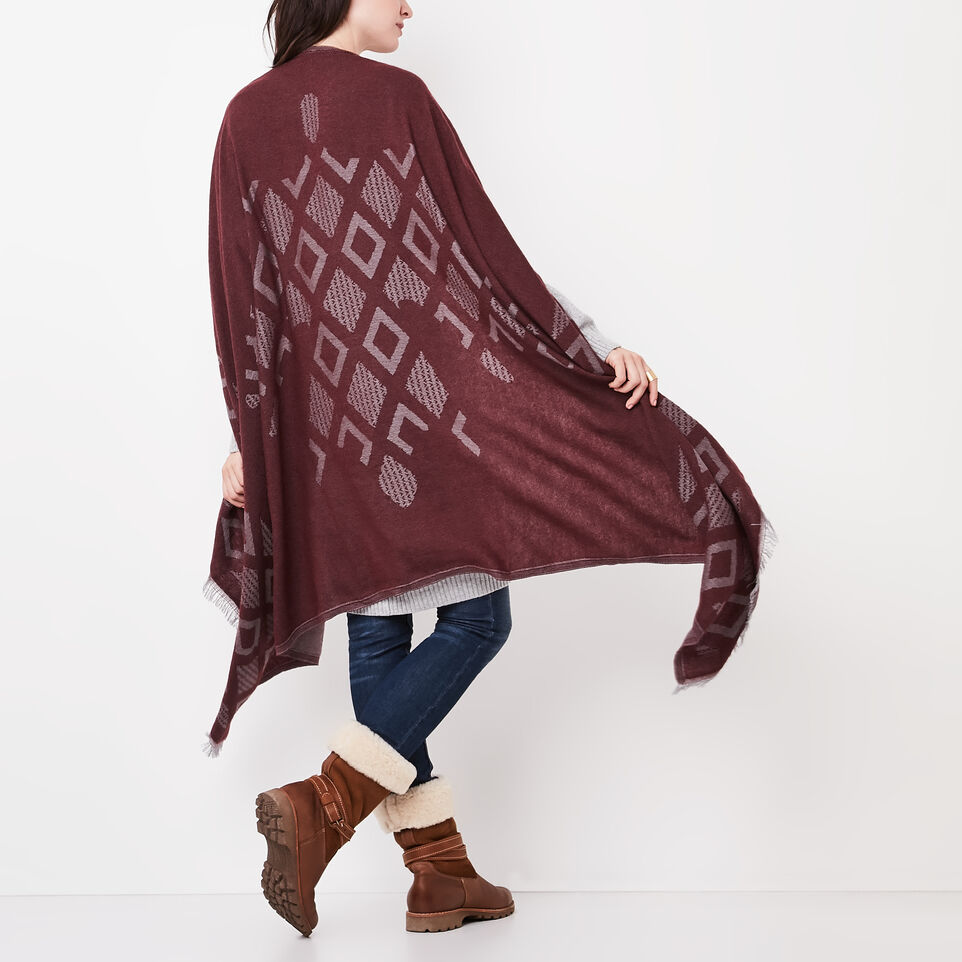 Roots-undefined-Flag Blanket Scarf-undefined-A