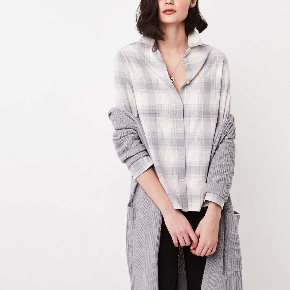 Roots-undefined-Nora Flannel Shirt-undefined-B