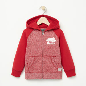 Roots-Kids Sweats-Toddler Original Full Zip Hoody-Lodge Red Pepper-A