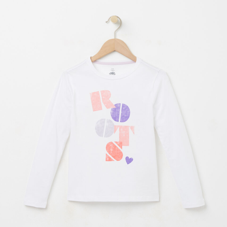 Roots-undefined-Filles T-shirt Imprimé Roots-undefined-A