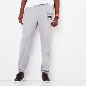 Roots-Women Boyfriend Sweatpants-Classic Boyfriend Sweatpant-Grey Mix-A