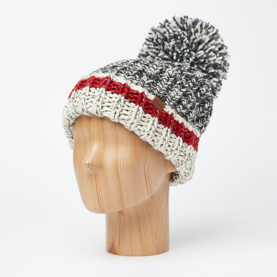 Roots-undefined-Chunky Cabin Pom Pom Toque-undefined-B
