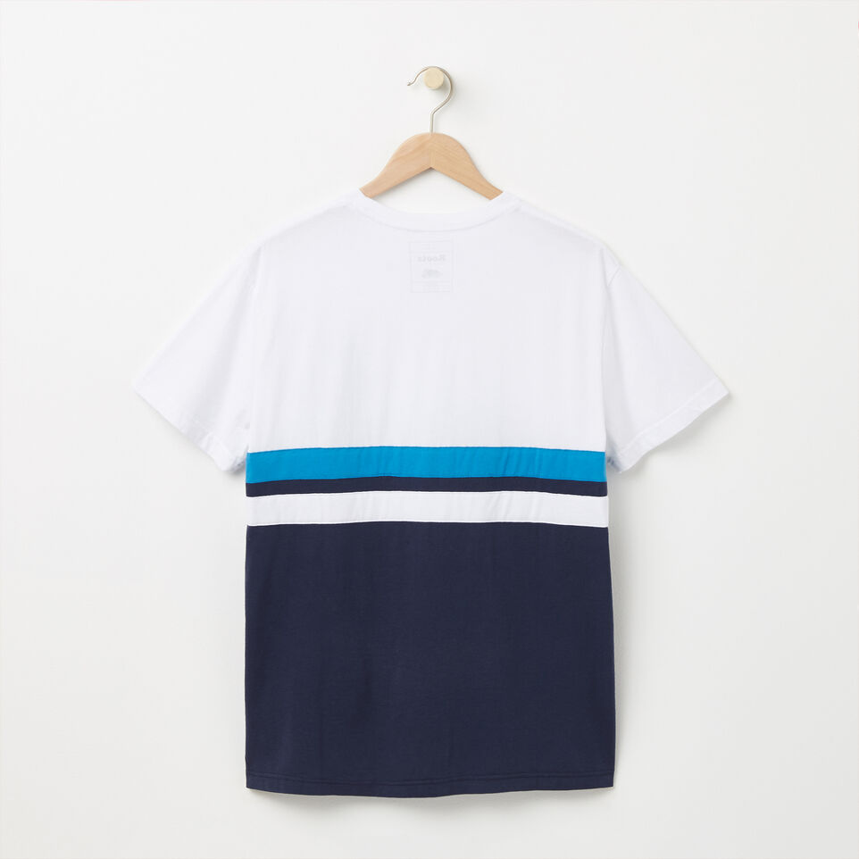 Roots-undefined-Summer Camp Colour Blocked T-shirt-undefined-B