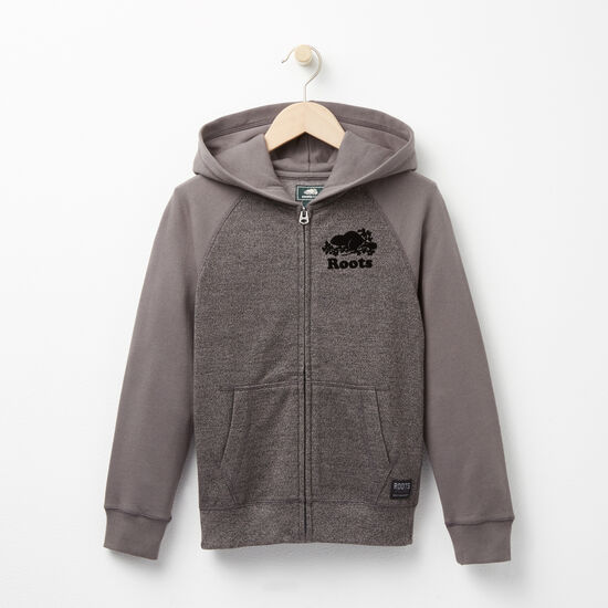 Boys Contrast Pepper Full Zip Hoody
