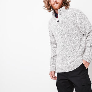 Roots-Gifts For Him-Snowy Fox Mock Sweater-Snowy Fox-A
