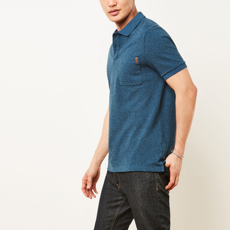 Roots-undefined-Heritage Peppered Polo-undefined-B