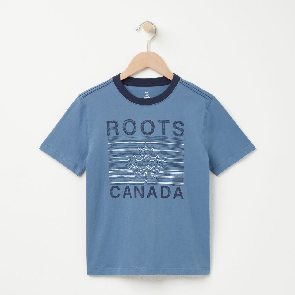 Roots-undefined-Boys Roots Maple T-shirt-undefined-A