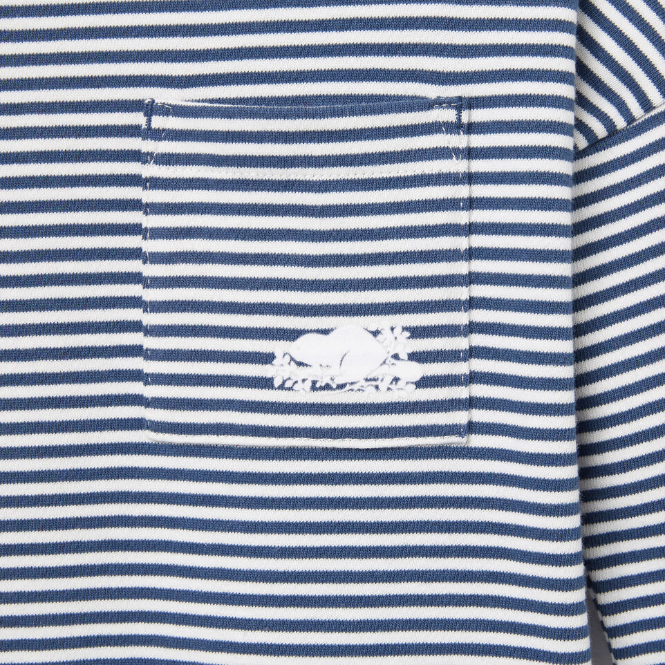 Roots-undefined-Girls Ava Stripe Top-undefined-D
