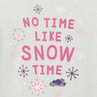 Roots-undefined-Girls Snow Time T-shirt-undefined-C