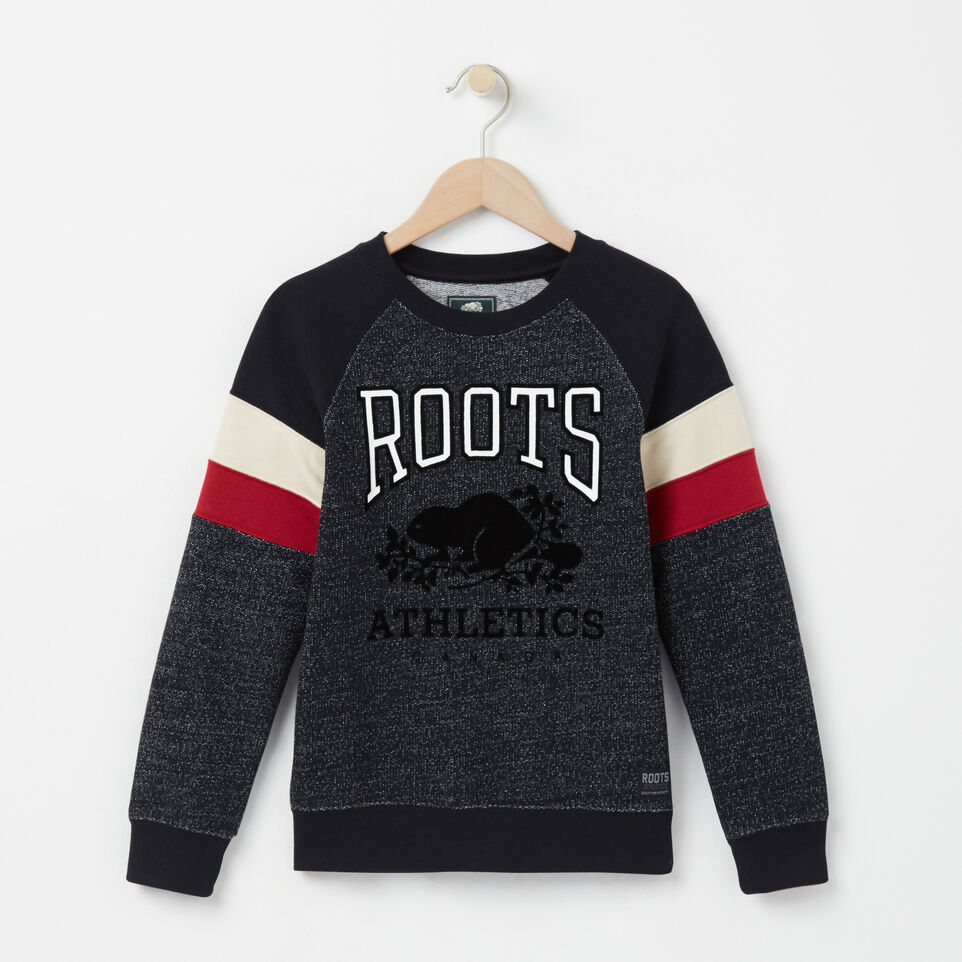 Roots-undefined-Boys Colour Block Sweatshirt-undefined-A