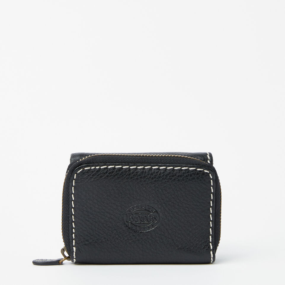 Roots-undefined-Small Trifold Clutch-undefined-C