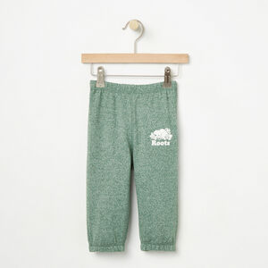 Roots-Kids Bottoms-Baby Original Sweatpant-Foliage Green Pepper-A