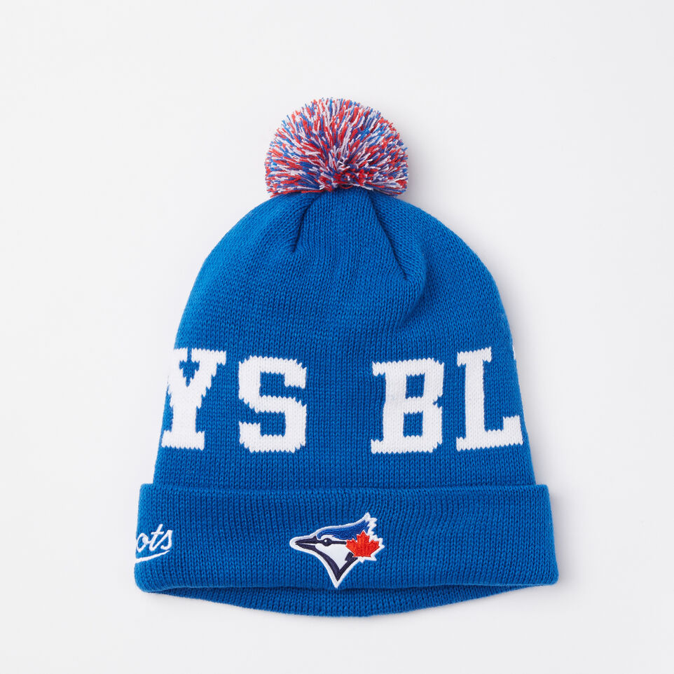 Roots-undefined-Blue Jays Pom Pom Toque-undefined-A