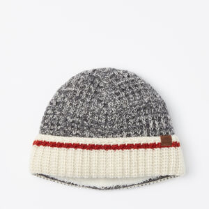Roots-Men Hats-Roots Cabin Thermal Toque-Salt & Pepper-A