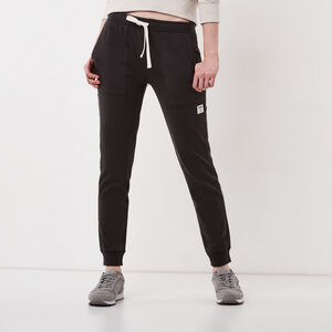 Roots-Women Bottoms-Baby French Terry Jogger-Phantom-A