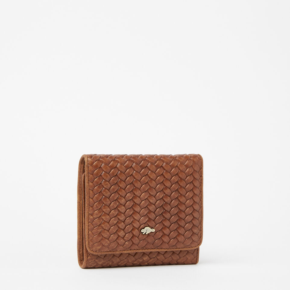 Roots-undefined-Easy Trifold Wallet Woven-undefined-F