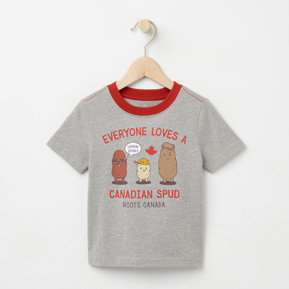 Roots-undefined-Tout-Petits T-shirt Canadian Spud-undefined-A