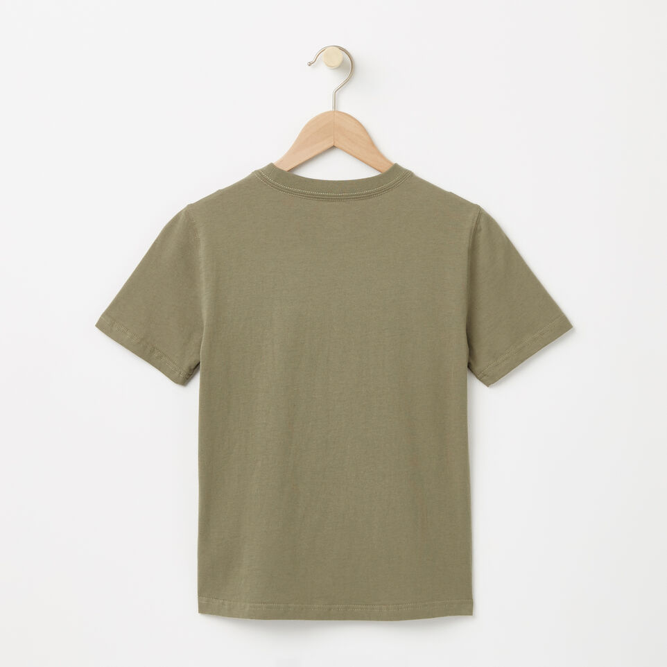 Roots-undefined-Garçons T-shirt Montagne Cooper-undefined-B