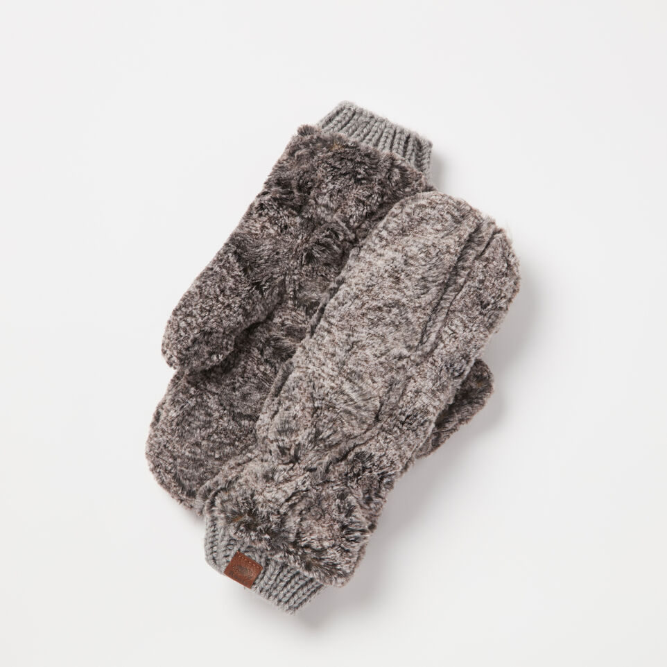 Roots-undefined-Anastasia Faux Fur Mitt-undefined-A