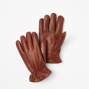 Roots-Men Gloves-Mens Classic Nappa Gloves-Brown-A