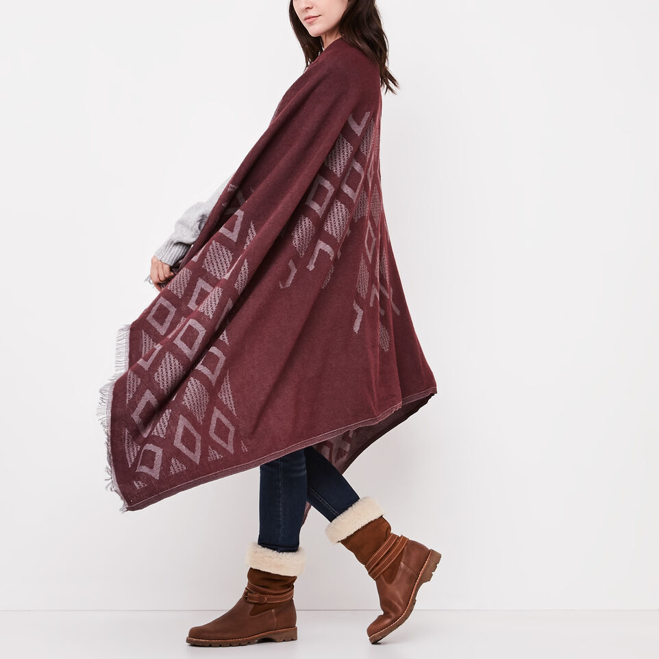 Roots-undefined-Flag Blanket Scarf-undefined-C