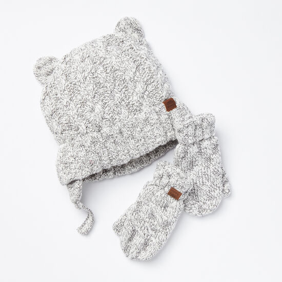 Roots-Kids New Arrivals-Toddler Winter Fox Gift Set-Snowy Fox-A