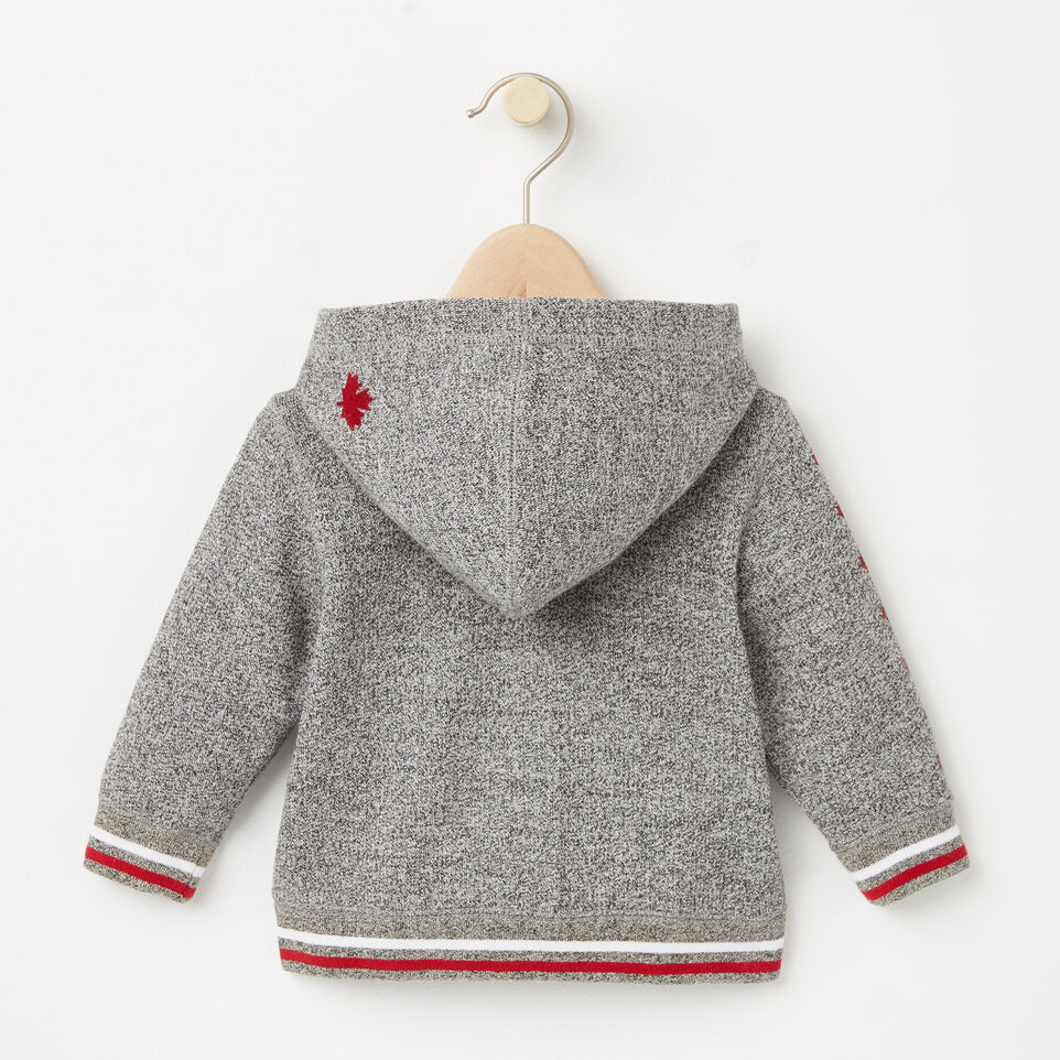 Roots-undefined-Baby CanadaFull Zip Hoody-undefined-B
