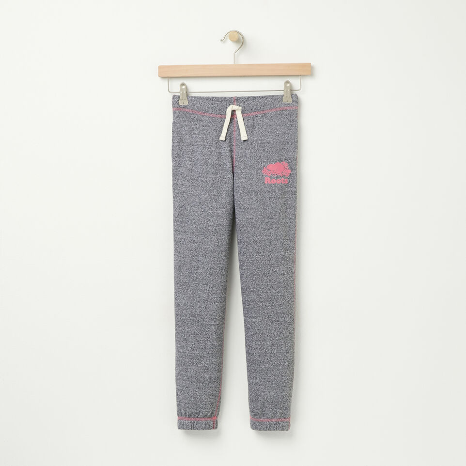 Roots-undefined-Girls Original Slim Sweatpant-undefined-A