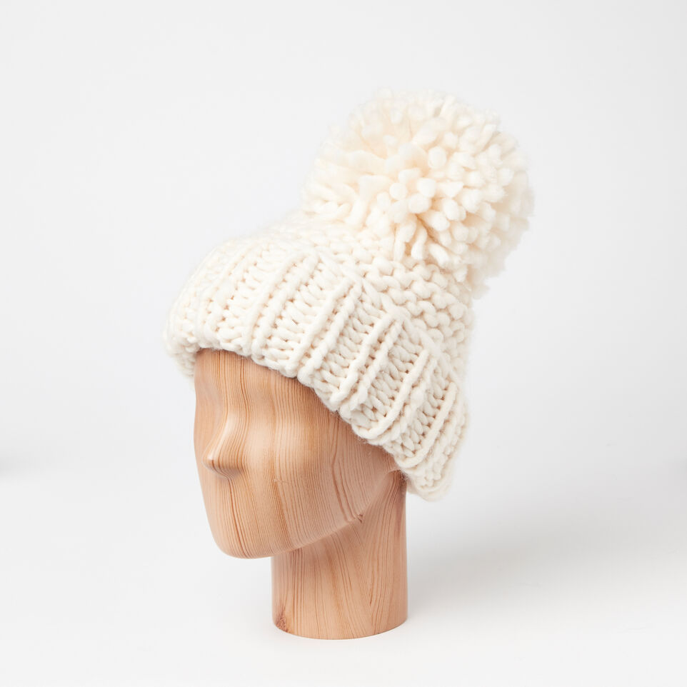 Roots-undefined-Delanie Chunky Pom Pom Toque-undefined-B